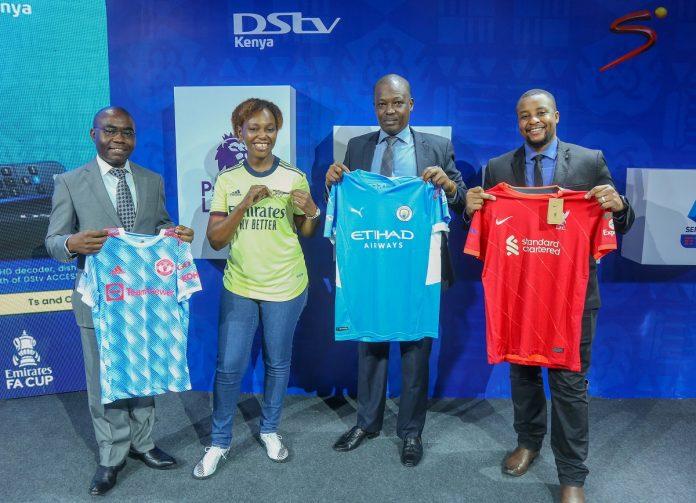 2021-22 football season on DStv and GOtv