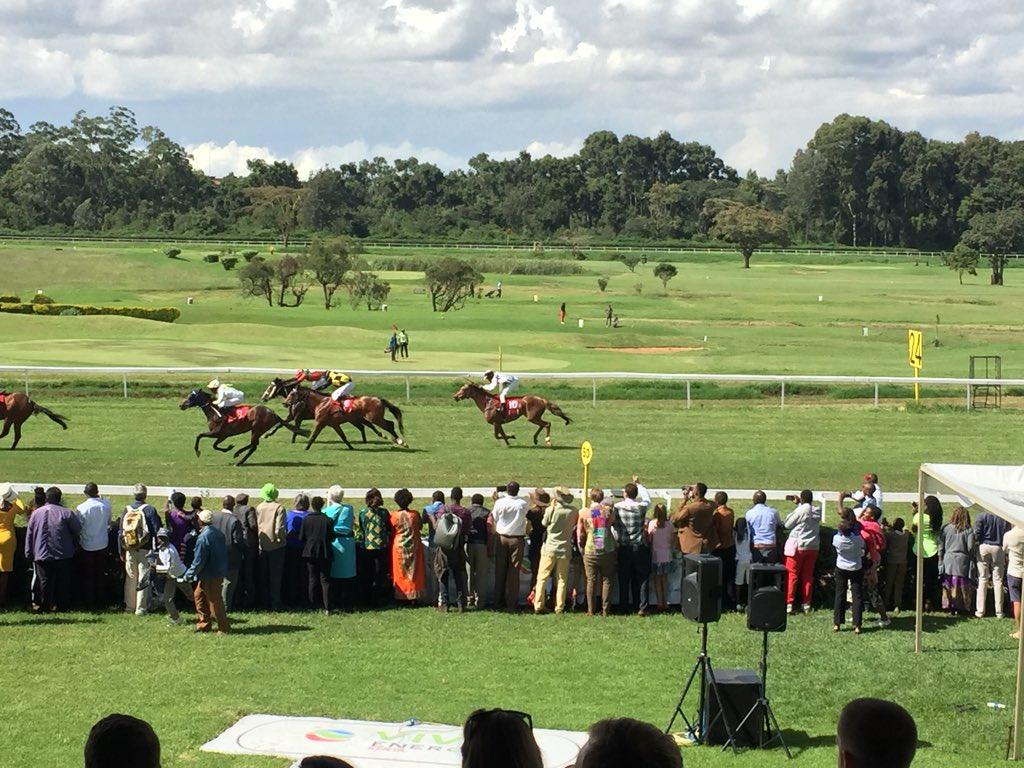 Horse Racing in Kenya - Ngong Racecourse 2