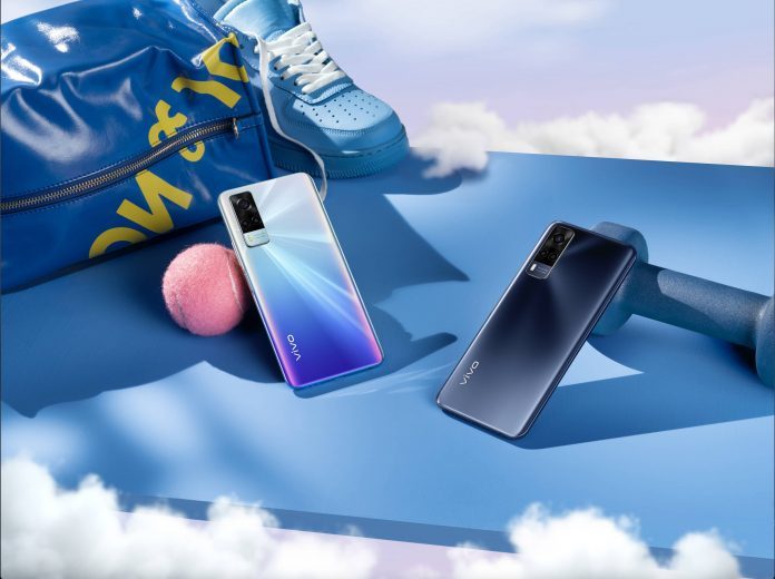 The vivo Y53s comes in two colors: Deep Sea Blue and Fantastic Rainbow.