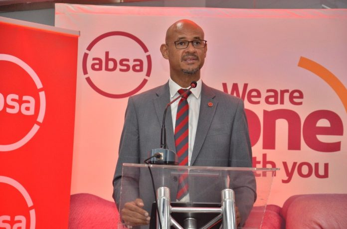 Absa Bank Kenya MD Jeremy Awori.