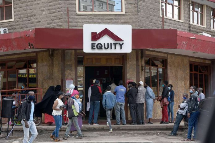 Equity saw increased uptake of its digital banking products during the pandemic. [Photo/ NMG]