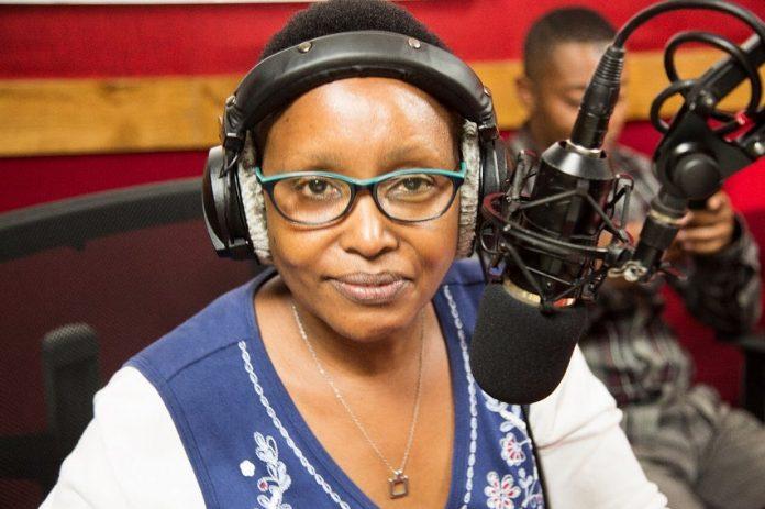 July 31, 2021 was Wambui Waweru's last day at Capital FM after 20 years. [Photo/ Capital FM]