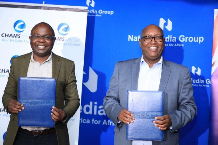 Alex Chamwada deal with NTV
