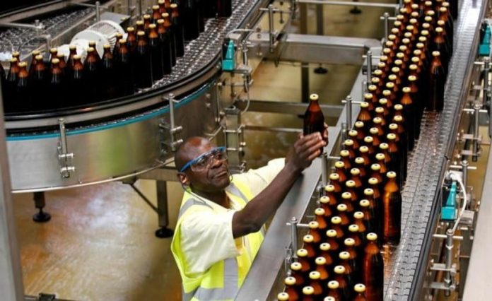 KBL works with over 47,000 local farmers in the country (largely in poor and marginalized localities in arid and semi-arid areas) who supply the brewer with sorghum and barley for the production of beer. [Photo/ REUTERS/Thomas Mukoya]