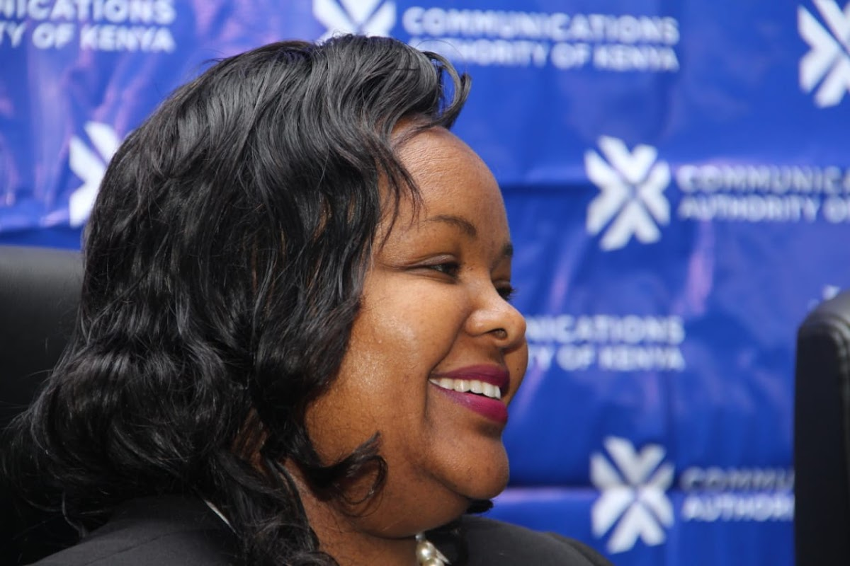 Mercy Wanjau Acting Communications Authority Director General