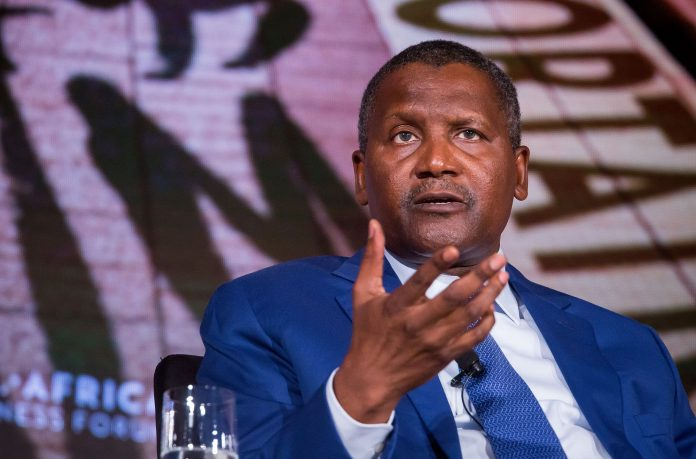Aliko Dangote is the Chairman and CEO of Dangote Group, a multi-national industrial conglomerate. As of August 2021, his net worth is pegged at more than $11 Billion making him the wealthiest man in Africa. [Photo/ CNBC]