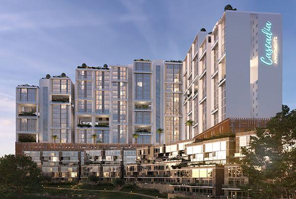 Cascadia Apartments in Gigiri, Nairobi. It is among Real estate ventures under the Centum umbrella. [Photo/ CentumRe]