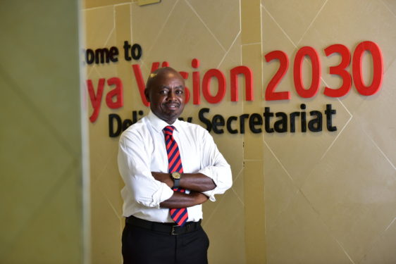 Kenneth Mwige agreed that the Vision 2030 Delivery Secretariat needed to be anchored in Law as opposed to being under the State Department for Planning. [Photo/ Vision2030.go.ke]