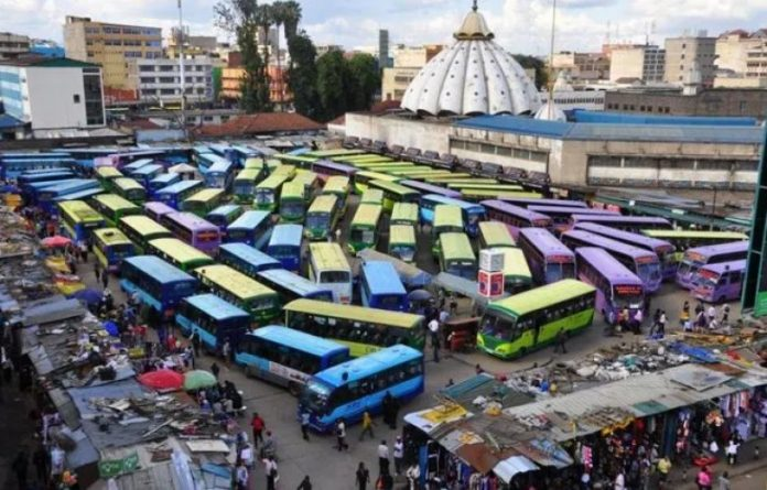 Matatus at a bus terminus in Nairobi. They will pay between Ksh1,630 and Ksh5,000 more in seasonal parking fees after KRA revised the discounted fees.
