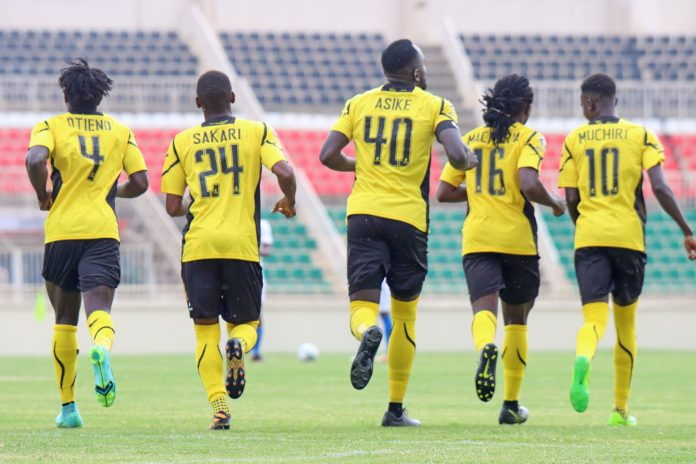 In the last four matches between the two sides, Tusker has only managed to beat Gor Mahia once in last season's second game when they won 2-1. [Photo/ @Tusker_fc]