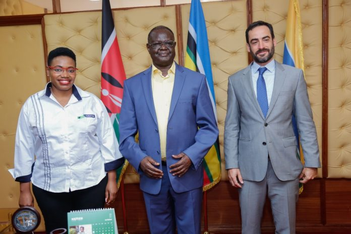 The deal is part of a project by the German Development Cooperation to increase the employability and income generation of 3,500 Kenyan youth in the construction sector.