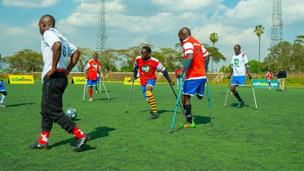 Kenya Amputee Football Team