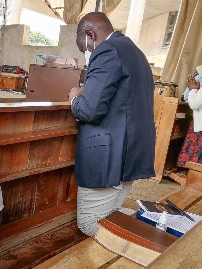 William Ruto In Church