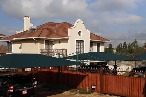 Ferdinand Waititu's Runda home.