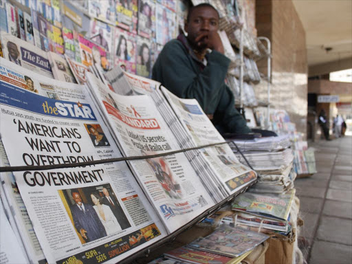 The Star is Kenya's third-biggest newspaper by circulation. [Photo/ The Star]