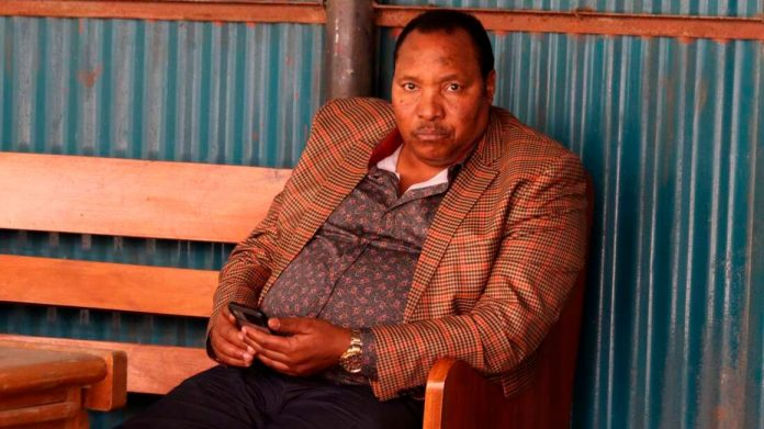 Former Kiambu governor Ferdinard Waititu at the Milimani law Courts Nairobi on Monday, March 1, 2021 during the mention of his abuse of office and corruption case. [PHOTO/ DENNIS ONSONGO]